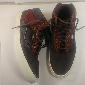 Vans Men's 12 Ultra Cush High Tops Brown Suede🔥